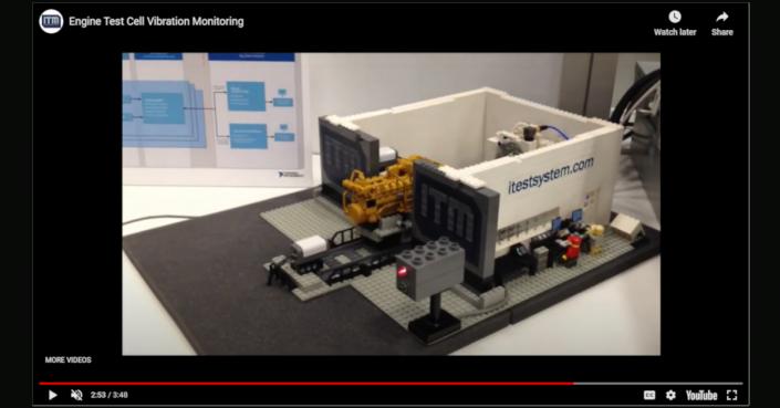 Lego Test Cell Model