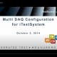 iTestSystem MultiDAQ Configuration Presentation Page