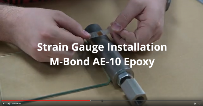 Strain Gauge Installation with M-Bond AE-10 Epoxy