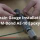 Strain Gauge Installation with M-Bond AE-10 Epoxy
