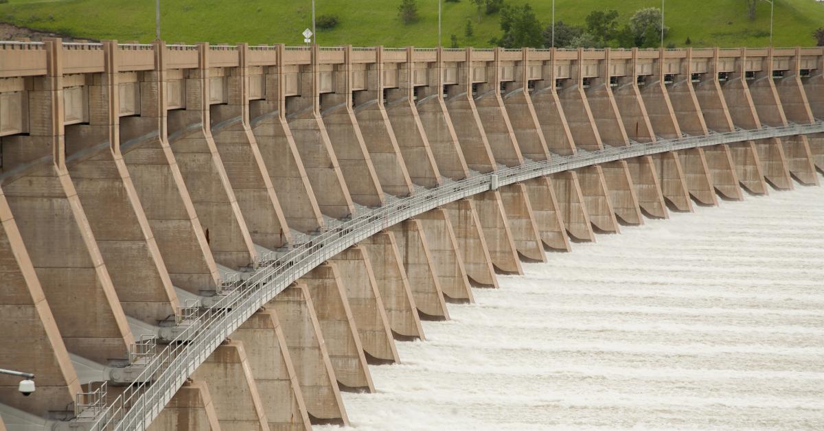 Garrison Dam Spillway