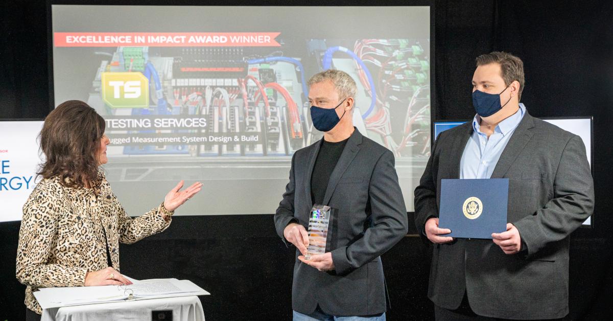 ITM Accepts Impact Award